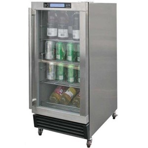 Cal Flame 3.25 cu. ft. Built-in Outdoor Beverage Cooler