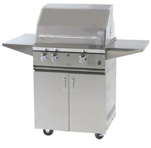 ProFire Professional Series 27-Inch Freestanding  Gas Grill With Rotisserie - PF27R + PF27SSCBP