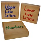 Storage Box -Alphabet/Numbers
