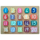 Matching Numbers Puzzle 1-20