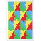 Mosaic Triangle Puzzle