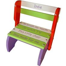 Purple, Orange & Green Kindy Chair