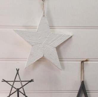 Rustic Star White