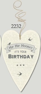 Lost for words Tag - Hip Hip Hooray It's Your Birthday