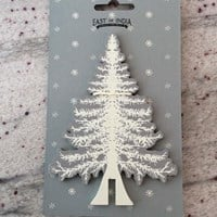 Wooden fir tree - slot together