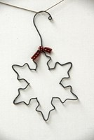 Wire Snowflake