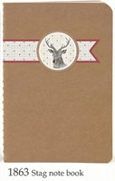 Notebook Stitched - Deer