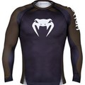VENUM L/S Rashguard- Black/Brown