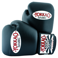 "Yokkao ""Basic"" Muay Thai Gloves- Black"