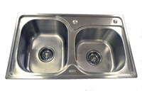 Double Stainless Sink 4 Catering Trailer Van ADD-6840