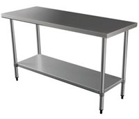 "Stainless Steel Table  3ft or 24"" x 36""/91.5 cm x 61cm"