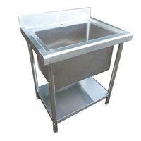 Sink Commercial single deep bowl catering - EN118