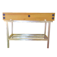 Butchers Block 4ft by 2ft and Stand