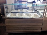Bain Marie Serve Over Counter Display 150cm