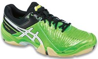 NEW - Asics Gel-Domain 3 Men's Court Shoes, Neon Green