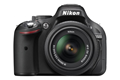 Nikon D5200 Kit 18-55mm Black Digital Camera (Direct Import)