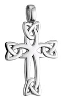 S44265 - White gold cross