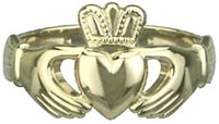 S2532  - Gents Heavy Traditional Claddagh Ring