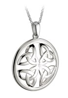 S44135 - Large Celtic Knot Pendant