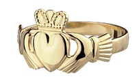 Traditional Claddagh Ring