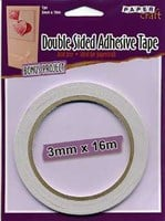 PaperCraft Double Sided Mounting Tape 3mm x 16m Roll ACID FREE