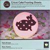 Cricut Cake Frosting Sheets Brown Colour Pack x 3 Sheets