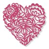 Couture Creations Floral Lace Die - Love Abounds (90 X 90mm | 3.54 X 3.54in) FREE SHIPPING