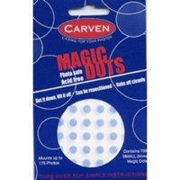 Carven Magic Dots Photo Safe Acid Free Mounts up to 175 Photos 700 Small 5mm Magic Dots FREE SHIPPING