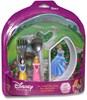 Disney Princess Melamine Dinnerware Set with Fork & Spoon