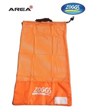 ZOGGS MESH SWIM BAG ORANGE
