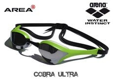 ARENA COBRA ULTRA SWIMMING GOGGLES - GREEN
