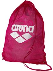 ARENA Mesh Swim Equipment Bag Fuchsia