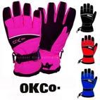 OKco Swoosh Kids Ski / Snow Gloves (6-13yrs)