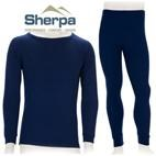 Sherpa Kids Polypropylene Thermals Set (Navy) 2-12