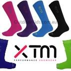XTM Kids Heater Merino Blend Thermal Ski Socks (Twin Pack/2 pair)  SIZE 9-12