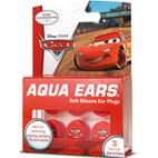 Aqua Ears Disney Cars Kids Ear Plugs for hearing protection, swimming, bathing - 3 PAIRS