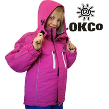 OKco Skoda Girls Waterproof Ski Snowboard Jacket (Candy Pink) **CLEARANCE** Sizes 6 & 8