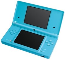Refurbished Nintendo DSi Game Console in Light Blue Colour Best Xmas Gift
