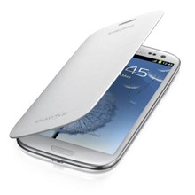 GENUINE Samsung Flip Cover Case for Galaxy S III 3 S3 i9300 Merble White Mobile