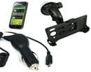 Samsung Galaxy S i9000 Car Upgrade Kit with Suction Mount in-Car Handset Holder and Micro USB Car Charger