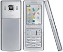 6500 Classic Housing Fascia Set with Black Keypad Buttons - Silver