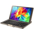 Genuine Samsung Galaxy Tab S 8.4 Bluetooth Keyboard Case Titanium Bronze EJ-CT700UAEGWW