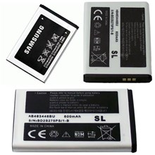 Genuine Samsung Battery For D520 E250 E900 X530 X680 E870 C300 C120 - AB463446BU / AB043446BE