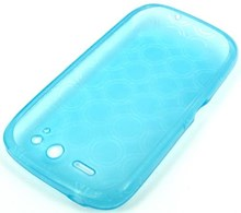 HTC Incredible S Skin Gel Case / Blue / TPU
