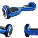Smart Self Balance Board Electric Scooter Known As IO Hawk Hover Board Segway Blue Colour