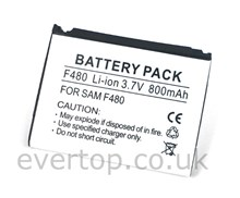 Samsung F480 Battery also known as Samsung Tocco Battery - AB553446CE