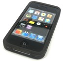 iPhone 4 Protective Silicone Bumber / Case / Black