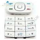 Original Nokia 5300 XpressMusic Replacement Keypad Buttons Set - White