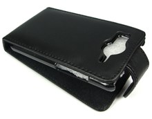 HTC Desire HD A9191 Premium Quality Genuine Leather Carry Case / Black