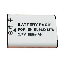 Replacement EN-EL11 Battery for Nikon COOLPIX S550 and COOLPIX S560 Digital Cameras
